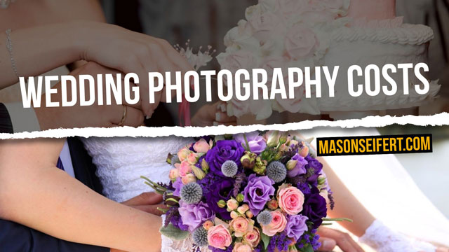average wedding photography costs
